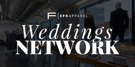 Weddings Networking + Free Custom Shirt tickets