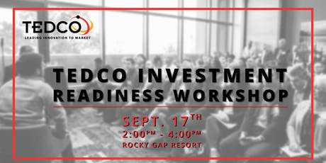 TEDCO Investment Readiness Workshop tickets