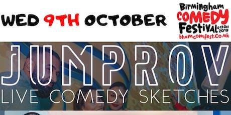 Jumprov at Birmingham Comedy Festival tickets