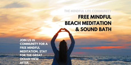 Mindful Beach Meditation & Sound Bath tickets