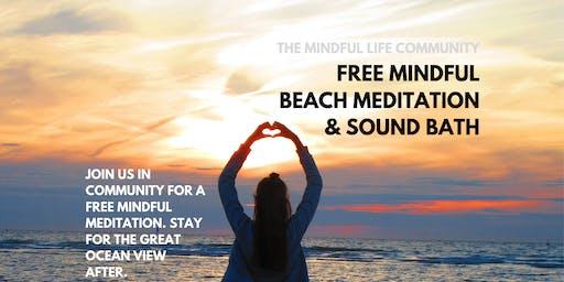 Mindful Beach Meditation & Sound Bath