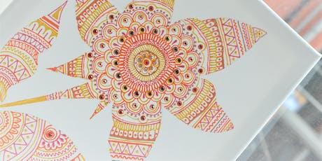 Autumn Inspired Canvas Design Workshop tickets