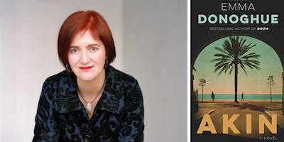 Emma Donoghue at the Brattle Theatre