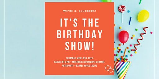 It's Our Third Birthday Show!