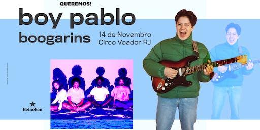 Pré-Venda Queremos! Boy Pablo no Rio de Janeiro