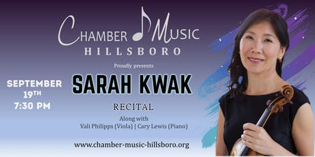 Sarah Kwak Recital tickets