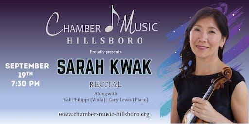 Sarah Kwak Recital