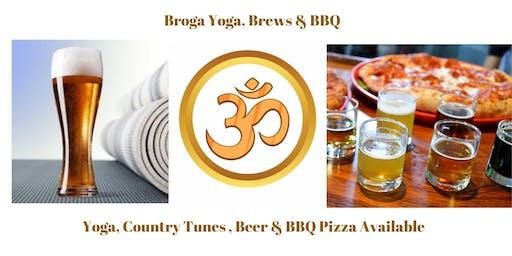 Broga Yoga, Brews & BBQ - Not Just for Men!