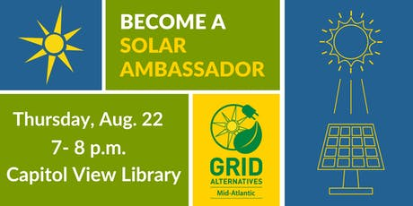 GRID Mid-Atlantic Solar Ambassador Meet-up tickets