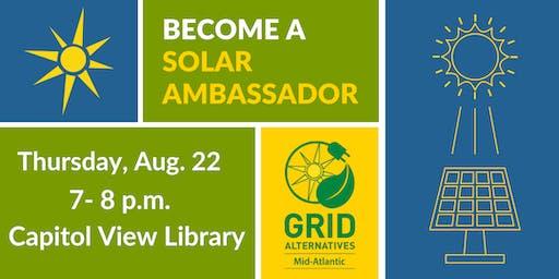 GRID Mid-Atlantic Solar Ambassador Meet-up