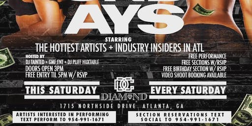ATLANTA'S SEXIEST DAY PARTY!!
