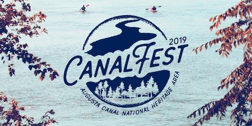 CanalFEST '19 Membership Tent
