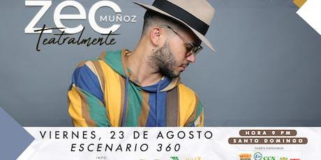 Zeo Munoz Teatralmente tickets