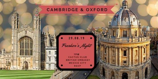 Cambridge & Oxford Fresher's Night
