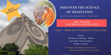 Discover Science of Meditation with Brahmarshi Patriji tickets