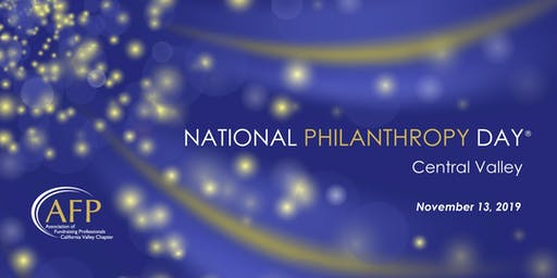 2019 National Philanthropy Day - California Valley Chapter