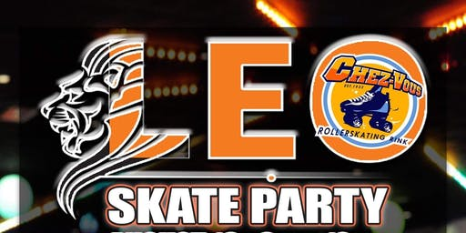 Leo Skate Party! (Leo's Celebrate Free w/RSVP)