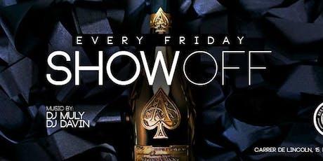 Showoff Fridays at Otto Zutz Free Guestlist - 8/30/2019 tickets