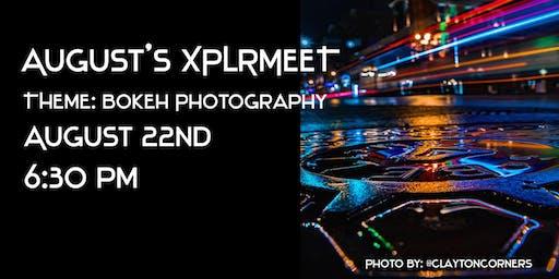 August's XPLRMEET- Bokeh in Downtown Nashville