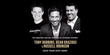 TONY ROBBINS, DEAN GRAZIOSI & RUSSELL BRUNSON (Montgomery) tickets