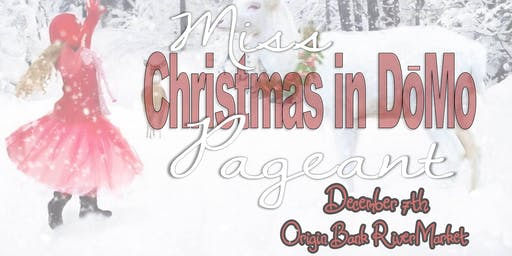 Little Miss Christmas in DoMo Pageant