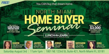 Home Buyer Seminar - Free Lunch and Learn tickets