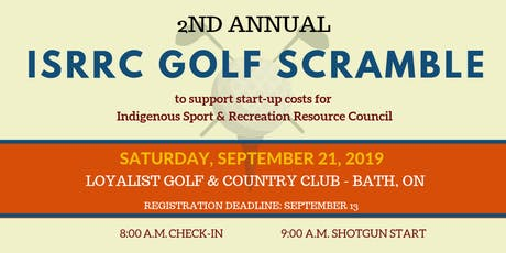 2nd Annual ISRRC Golf Scramble tickets