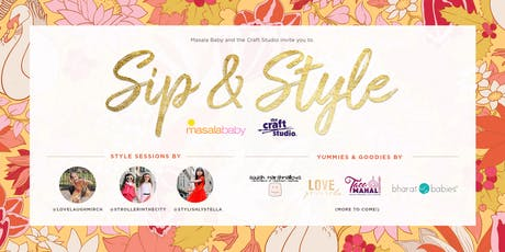 Masala Baby | Sip & Style at the Craft Studio tickets