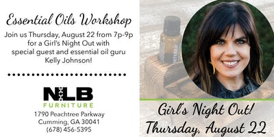 GNO - Essential Oils Workshop with Kelly Johnson!
