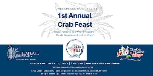 1st Annual Chesapeake Hospitality Crab Feast