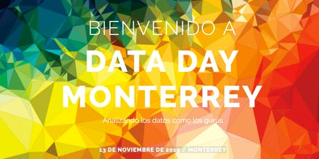 Data Day Monterrey 2019 entradas