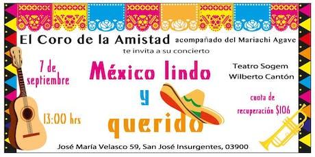 Concierto Coro de la Amistad: México lindo entradas