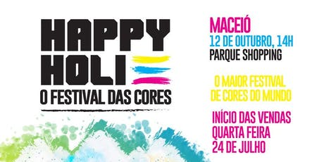Happy Holi - Festival das Cores ingressos