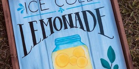 ICE COLD LEMONADE CANVAS PAINT NIGHT