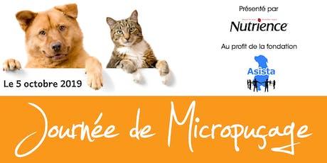 Journée de Micropuçage et Coupe de Griffes billets