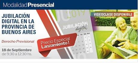 Jubilación Digital en la Provincia de Buenos aires entradas