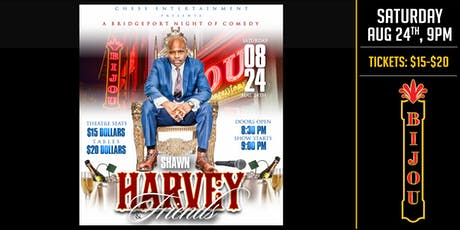 A Bridgeport Night of Comedy - Shawn Harvey & Friends tickets