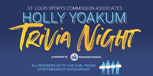 St. Louis Sports Commission Associates Holly Yoakum Trivia Night