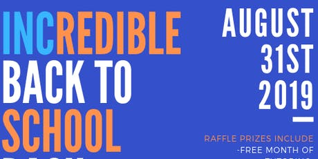 INC Presents, INCredible Back To School Bash tickets