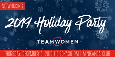 TeamWomen 2019 Holiday Party tickets