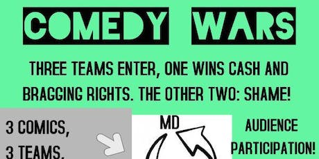DMV Comedy Wars at Exiles tickets
