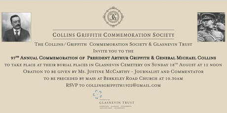 Collins/Griffith Commemoration 2019 #CollinsGriffith2019 tickets
