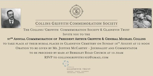 Collins/Griffith Commemoration 2019 #CollinsGriffith2019