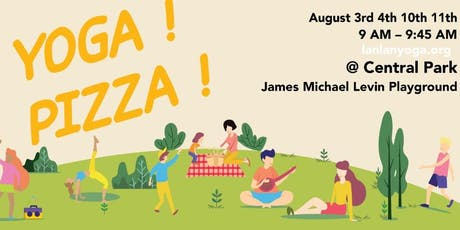 FREE Kids Yoga Session & Pizza tickets