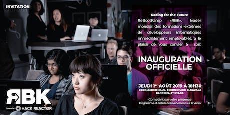 Inauguration ReBootKamp Tunisie billets