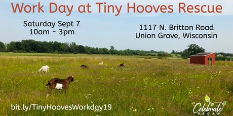 Work Day & Meet the Animals at Tiny Hooves Rescue tickets