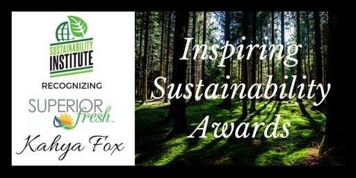 Inspiring Sustainability Awards - presented by the Sustainability Institute