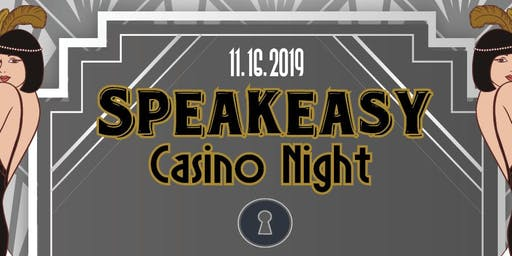 Speakeasy Dinner and Casino Night