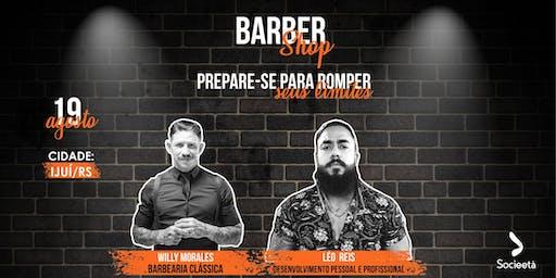 Barbershop  com  Willy Morales e Léo Reis