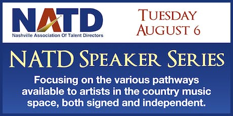 NATD Speaker Series Presents: Breaking Artist Pathways tickets